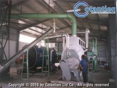 Dây chuyền chế biến bột cá 60 tấn/ngày