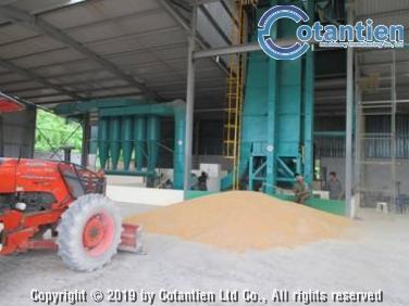 Dây chuyền sấy bắp hạt thương phẩm 50 tấn/ngày