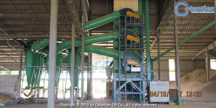 Dây chuyền sấy bắp hạt thương phẩm150 tấn/ngày