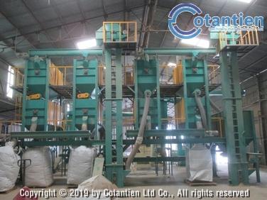 Dây chuyền nghiền, sàng dăm gỗ 3 tấn/giờ
